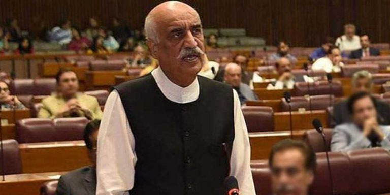 Khursheed Shah under custody of NAB