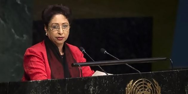 Maliha lodhi demands UN OF strict monitoring of loc from pakistan