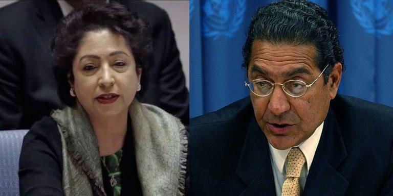 Munir Akram replaces Maleeha Lodhi as Pakistan's UN envoy