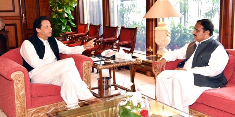 PM meets CM Punjab