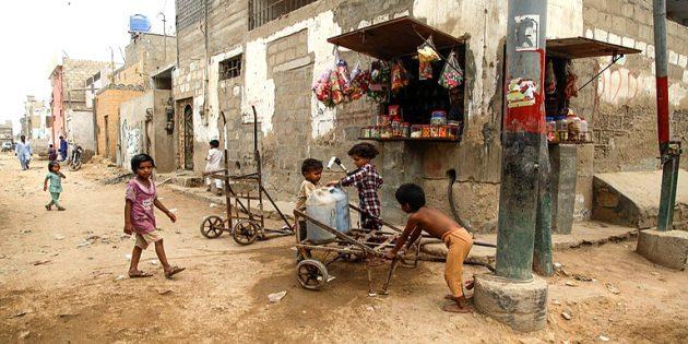 slums areas