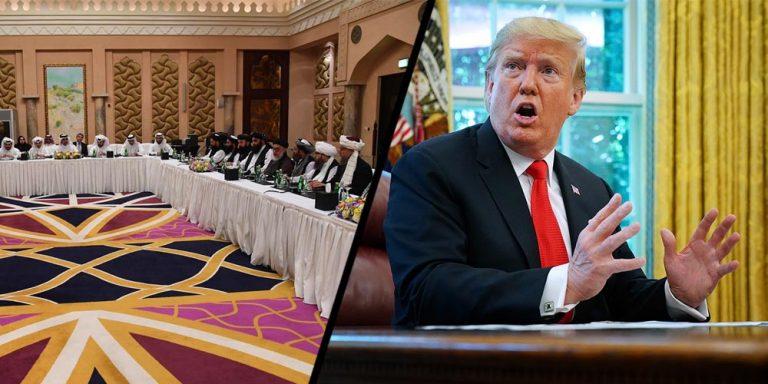 Donald trump cancels peace talks with Taliban