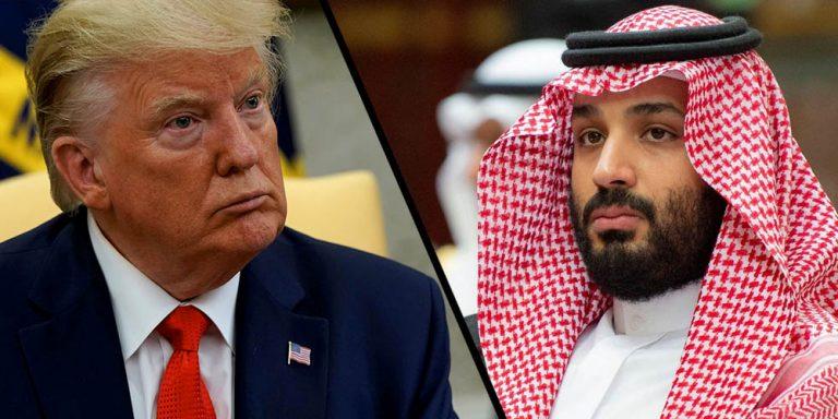 Trump calls Saudi crown Prince