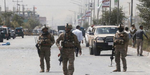 air strike in Afghanistan