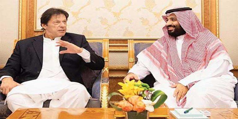 PM Imran held a meeting with Saudi Crown Prince