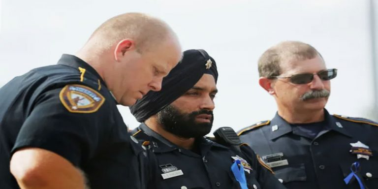 1st Sikh deputy in his county mourned after killing at traffic stop