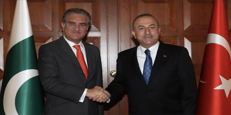 Pakistan, Turkey agree to continue joint efforts for peace in region