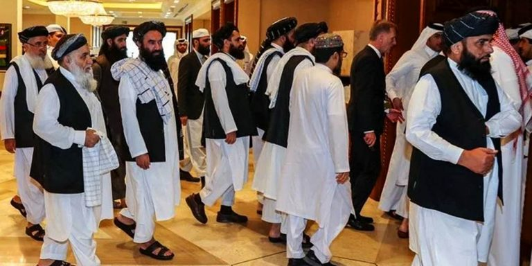Taliban contingent lead by Mullah Baradar arrives in Islamabad