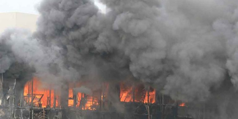 Factory fire kills 19 in east China