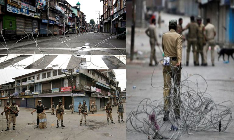 Grim situation continues as curfew enters 58th day in occupied Kashmir