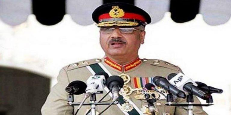 Gen Zubair Mahmood addressed the parade of PAF