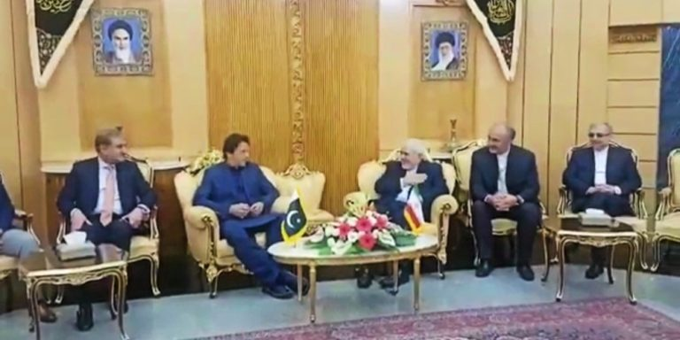 PM arrives Tehran on an official on-day visit