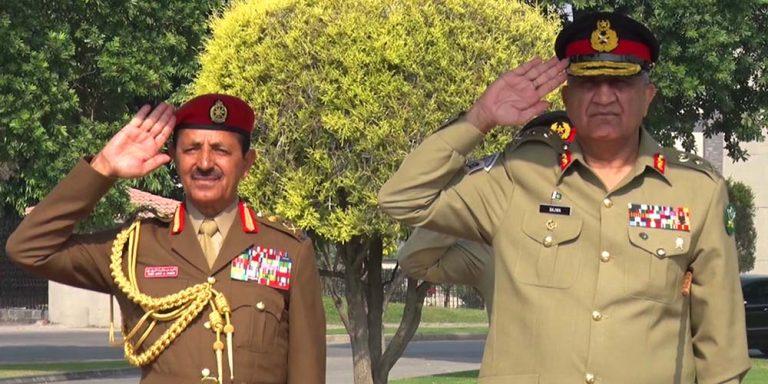 COAS meets Oman's SAF
