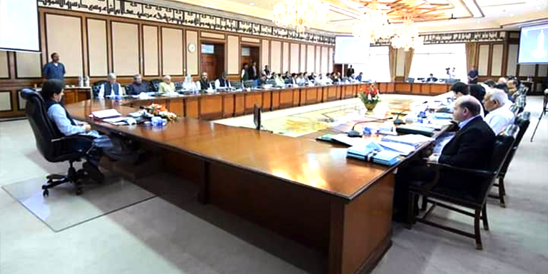 PM Imran Khan chairs federal cabinet meeting today