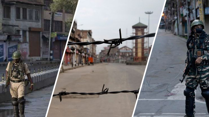 66th day of military lockdown in Indian occupied Kashmir