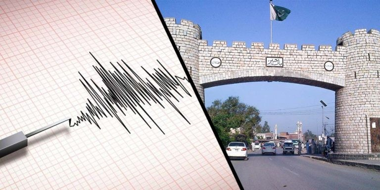Earthquake tremors felt in Peshawar
