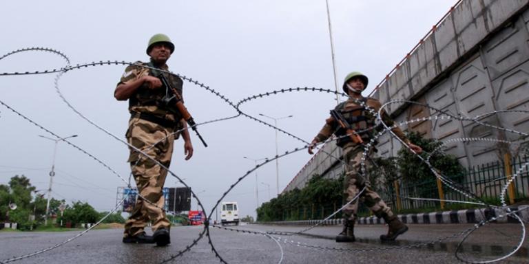 Kashmir Curfew enters the 63rd day