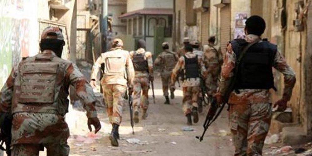 Rangers raids in karachi