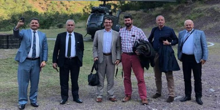 team of diplomatic corps visits LoC