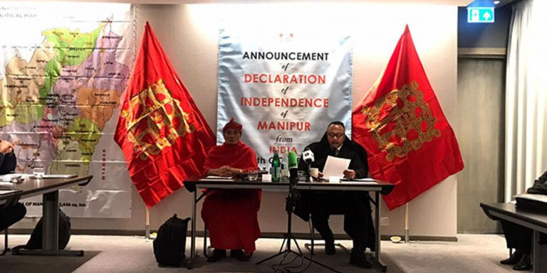 Manipur announces separation from India