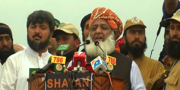 JUI-F to march towards Islamabad on October 27: Fazl