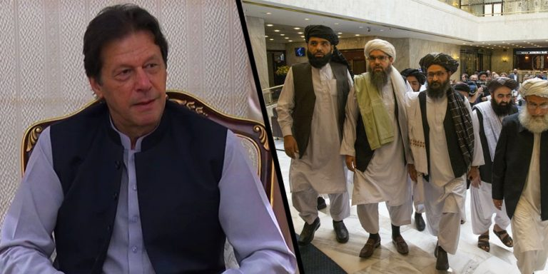 The high-level Afghan Taliban delegation