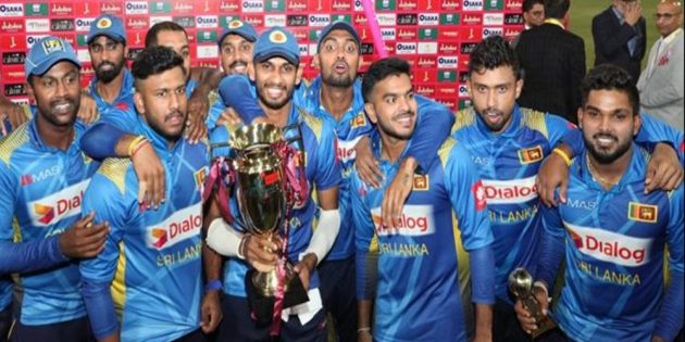 Sri-Lankan team white wash Pakistan