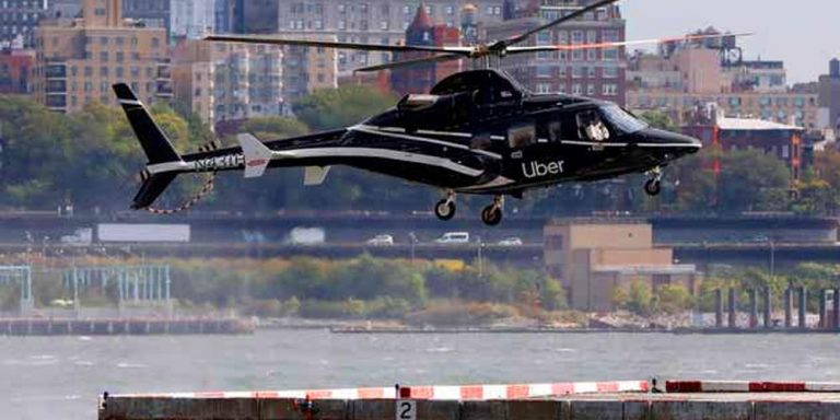 Uber introduces helicopter service at New York airport