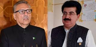 Chairman Senate to take control of the Presidency affairs as Arif Alvi leaves for Japan's visit
