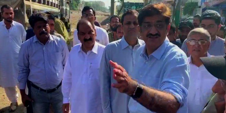 Sindh CM reviews cleanliness drive in Karachi