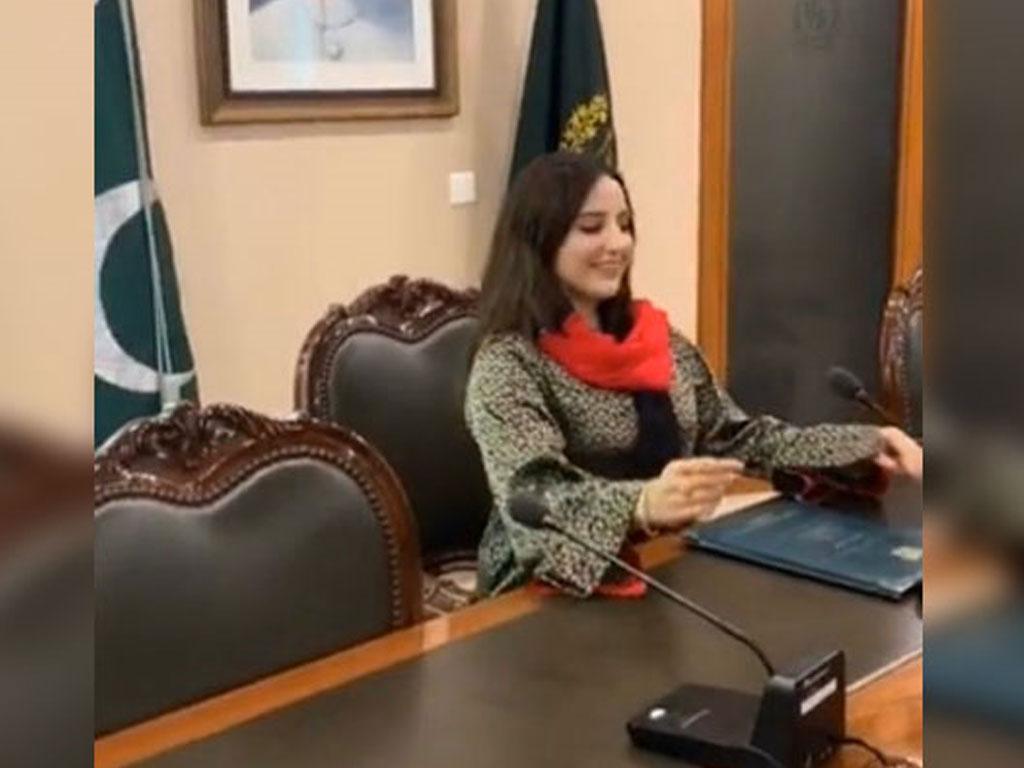 Pakistani TikToker star Hareem Shah