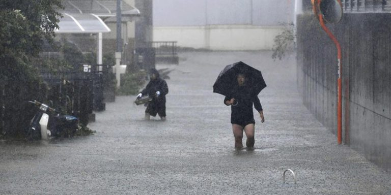 Japan Typhoon kills 35