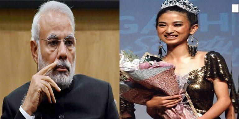 Miss Kohima contestant goes viral as she speaks up against Modi