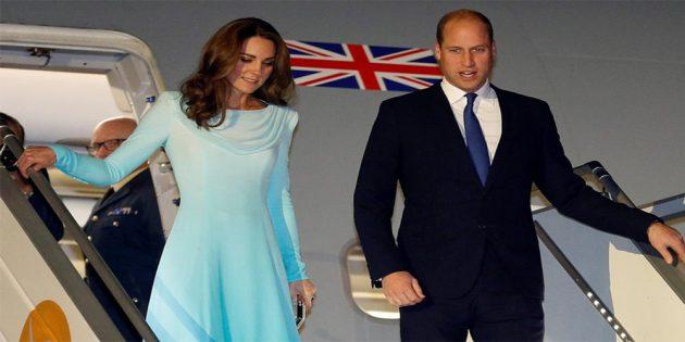 British Royal couple reach Pakistan