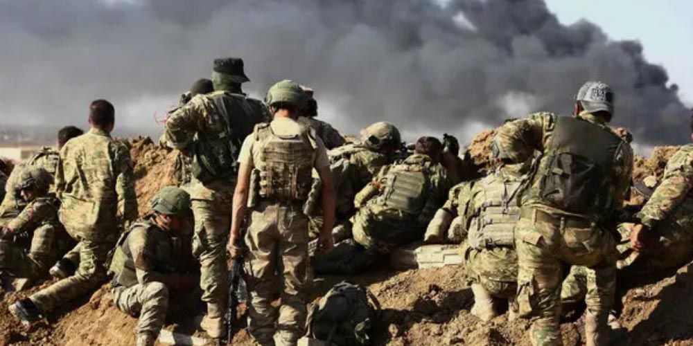 Turkey's military operation in Syria