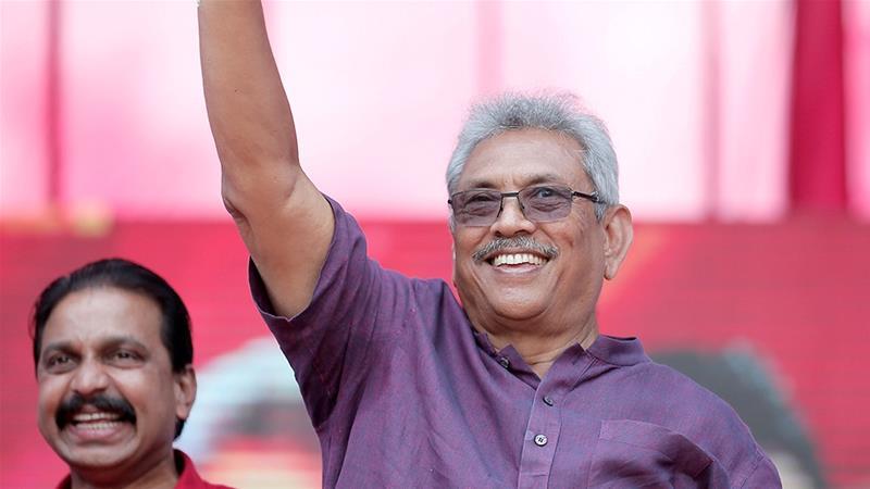 Gotabaya Rajapaksa New President Of Sri Lanka
