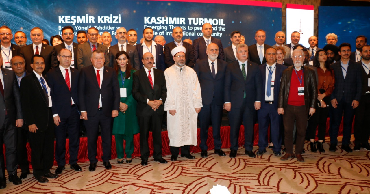 Kashmir conference in turkey