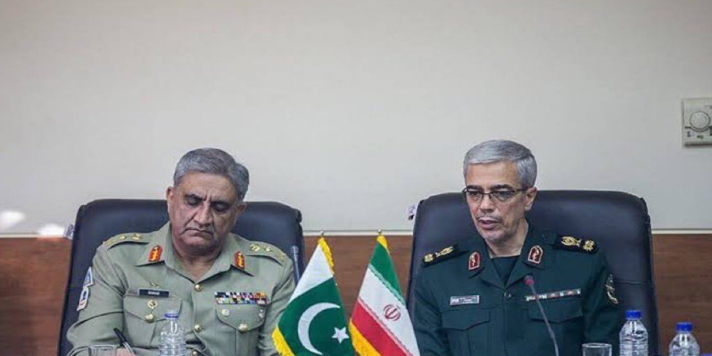 COAS meets Chief of Staff Iranian Armed Forces in Tehran