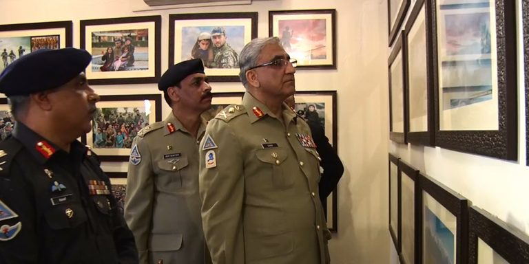 COAS visited Frontier Corps Headquarters