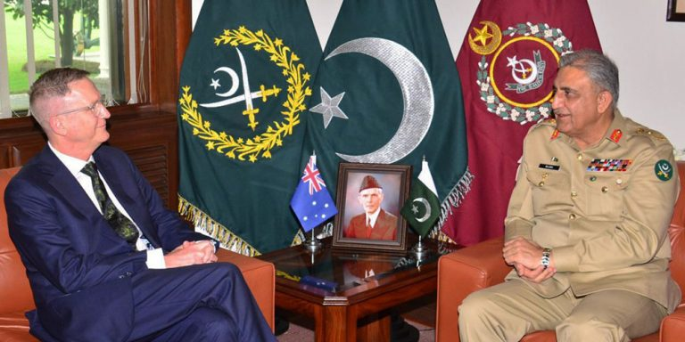 Army Chief meets Australian High Commissioner