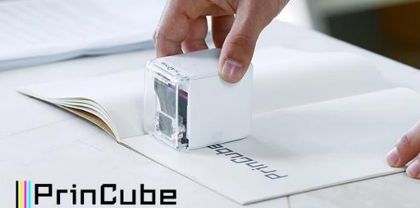 PrinCube – the smallest, mobile colour printer