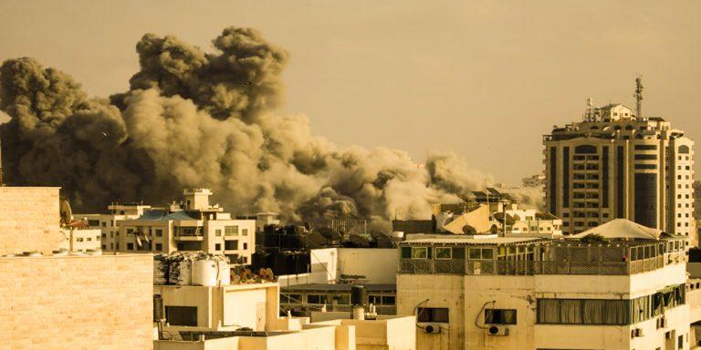 Gaza occupied Israeli militants killed 10 Palestinians in an airstrike