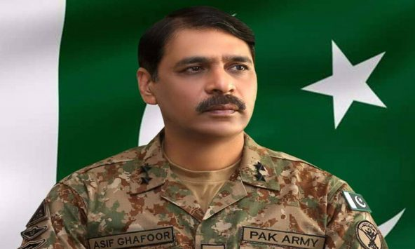 Director-General Inter-Services Public Relations Major General Asif Ghafoor