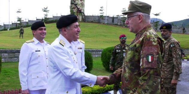 Chairman EU Military Committee visits Naval headquarters