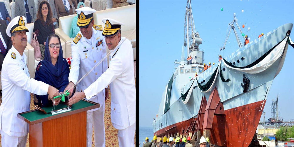 Pakistan Navy launches Fast Attack Craft (Missile)-4 Navy warship