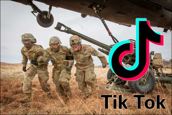 U.S. precludes its troops from using Tik-Tok