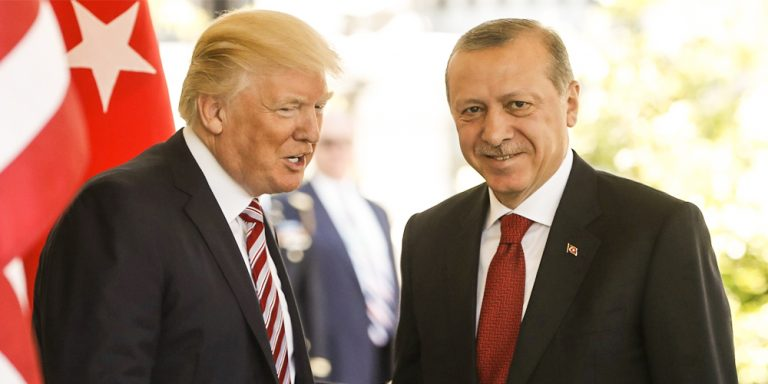 Trump Erdogan meeting