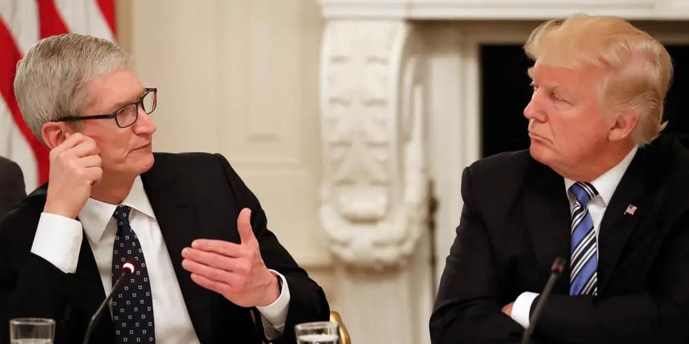 Trump wants Apple to help assemble U.S's 5G network