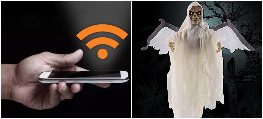 Do ghosts affect internet speed?