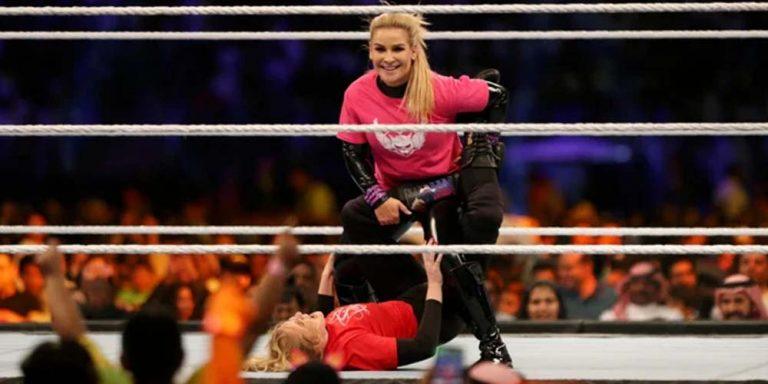 First female WWE fight held in Saudi Arabia